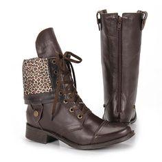 O ousado do marron com seu atrativo em Botas (sapatos e acessórios) incrementando o estilo pessoal !