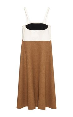 Shop Combo Alpaca Wool Felt Tank Dress by Marni for Preorder on Moda Operandi