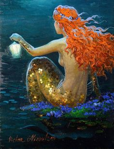 Home Art Decor Fantasy Vintage Mermaid Oil Painting Picture Printed On Canvas For The Sitting Room Adornment Art (Mainland)) Fantasy Mermaids, Mermaids And Mermen, Fantasy Girl, Real Mermaids, Mermaid Artwork, Mermaid Drawings, Mermaid Paintings, Mermaid Prints, Oil Painting Pictures