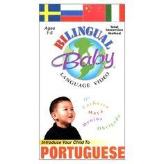 Bilingual Baby: Portuguese - DVD $15.39 #topseller