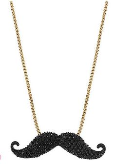 stache necklace