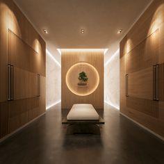 dutch design firm SEYD presents bi-directional symmetry yacht concept Spa Design, Yacht Design, Spa Interior Design, Design Firms, Salon Design, Spa Room Decor, Massage Room Decor, Home Decor, Japanese Spa
