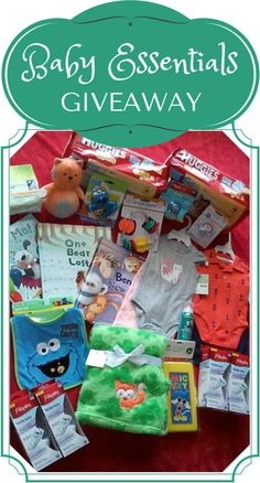 Baby Essentials #Giveaway