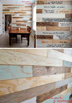 Plank Wall-accent walls