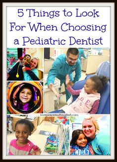 If you are looking for a Pediatric Dentist for your child, here are some important things to look for when choosing a Pediatric Dentist.