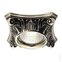 Темный точечный светильник Illumico Erli. IL6146-1YA-61 BN GD http://illumico-shop.ru/spoty/tochechnyy-svetilnik-illumico-erli-1ya-bn-gd/