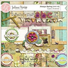 Gorgeous new kit from Juliana Kneipp