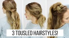 Today's Hair tutorial is on these 3 Tousled Hairstyles, all inspired by NYFW! I recently was able to go to NYC with TRESemmé for New York Fashion Week and it...