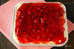 making it feel like home: Cherry Layered Pudding Delight {Guest Post}