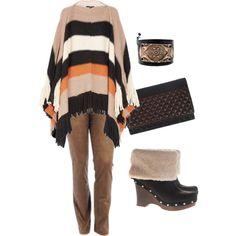 Poncho - Plus Size Fashion by aracely26