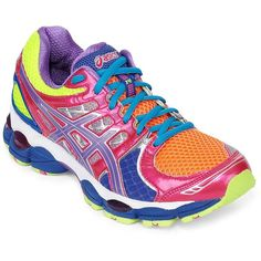 ASICS(R) GEL-Nimbus 14 Womens Running Shoes ($140) ❤ liked on Polyvore