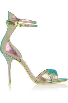 e26d88fdda4 J.Crew - + Sophia Webster Nicole textured-leather sandals. Strappy High  HeelsShoes ...