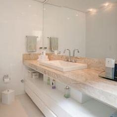 Baños de estilo moderno de Manoela Arquiteta