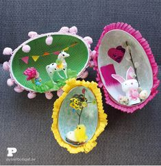 Easter Egg Dioramas by Pysselbolaget