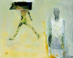 """Saatchi Online Artist Zek  ; Painting, """"Two Girls With Ropes"""" #art"""