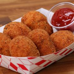 Cheesy Chicken Nuggets Recipe by Tasty