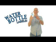 DIY Water Bottle Labels - Make Your Own Labels & Save! #labels #partyideas #waterbottlelabels #makeyourownlabels #diylabels