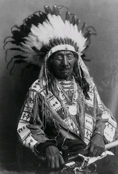 """Red Cloud was one of the last of the mighty Sioux Chiefs from the Indian Wars of the 1800's to survive. He was a powerful leader of the Oglala"