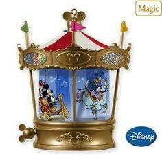 Mickeys Merry Carousel 2010 Hallmark Ornament