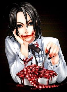 What a meal #anime #gore