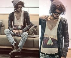 Love this. Hipster men's fashion