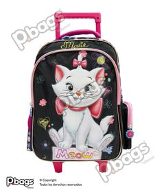 "Morral 16.5"" Con Ruedas Marie http://pbags.co/product/morral-16-5-marie-con-ruedas-p-bags-2/"