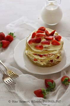 Strawberry Shortcake Pancake for Scarllett Magazine