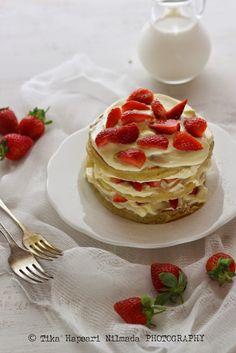 Strawberry Shortcake Pancake for Scarllett Magazine