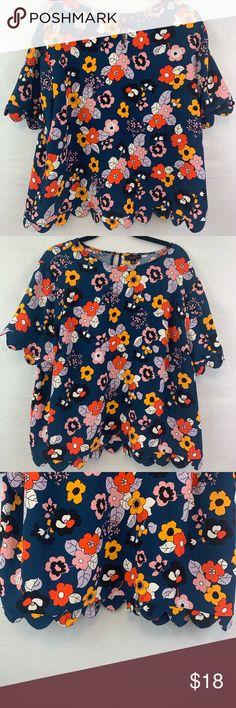 0812905d232 Victoria Beckham for target floral top size 2X Victoria Beckham for Target  Top Size 2X in