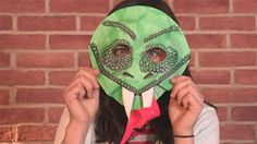 This guide shows you How To Create A Snake Paper Mask Paper Plate Animal Masks, Animal Mask Templates, Snake Costume, Ninjago Coloring Pages, Snake Crafts, Cute Snake, Bird Masks, Paper Mask, Carnival Masks