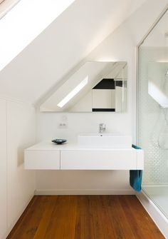 diy home decor for apartments is utterly important for your home. Whether you pick the bathroom demolition or remodeling bathroom ideas, you will create the best bathroom remodeling for your own life. Loft Bathroom, Upstairs Bathrooms, Bathroom Kids, Bathroom Flooring, Bathroom Interior, Modern Bathroom, Small Bathroom, Ikea Bathroom, Bathroom Cabinets
