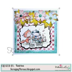 Polkadoodles Horace & Boo Design Sheets #pdoodlescraft #polkadoodles