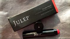 ❎TRADED/Santiago Jessica M❎       Julep Plush Pout Lip Crayon in Cardinal(red creme)  ***New/Full Size***