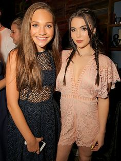 Star Tracks: Friday, July 29, 2016 | TEEN TALENT | Maddie Ziegler and McKayla Maroney join forces Thursday at TigerBeat's Teen Choice Awards pre-party in West Hollywood.