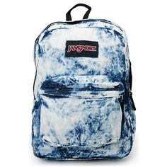 These packs are truly designed to last as you haul around anything and everything you need on a daily basis. The best part? Jansport backpacks are covered under warranty for LIFE! With a large main compartment, JS custom zipper pulls, and a front organizer pocket, the Jansport Denim Daze backpack is sure to do nothing but impress.Check out more tie dye stuff here.