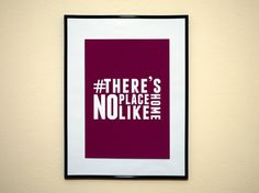 Theres No Place Like Home Style Art Print by EverythingHashtag, $8.99