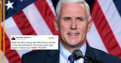 Twitter Schools Mike Pence For Honoring White Man For Black History Month -- Another missed opportunity to honor the right peole.
