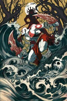 God of War 3 - Kratos vs Poseidon
