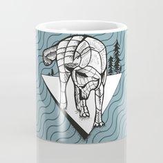 Wolf Mug by MENSCHENHAUT | Society6