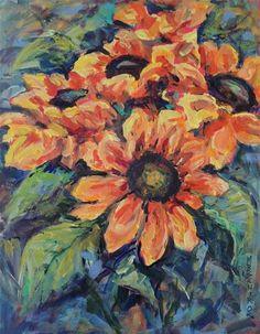 DPW Fine Art Friendly Auctions - A Bundle of Sun by Mary Schiros