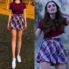 Kate's piece of aesthetics 🌼 ( Clueless Outfits, Tv Show Outfits, Fandom Outfits, Hot Outfits, Girl Outfits, Fashion Outfits, Lydia Martin Outfits, Lydia Martin Style, Teen Wolf Outfits