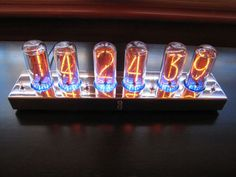 Nixie Tube Clock. A project in my future.