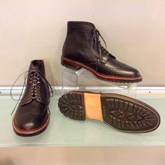 412399d61de Alden brown regina grain wing tip boot at J.Gilbert Footwear Men s Shoes
