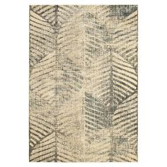 Loomed art silk rug with a distressed ogee-inspired motif.  Product: RugConstruction Material: Art silk...