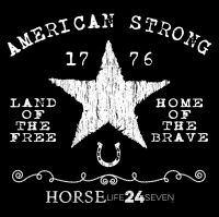 AMERICAN STAR Design - HorseLife24seven.com - Born in the Saddle