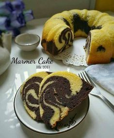 Resep Membuat Marmer Cake Jadoel Yang Enak, Empuk dan Lembyuuuut by Thuliink