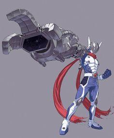 Digimon Tamers - Justimon by Sasakaz Character Concept, Character Design, Character Art, Power Rangers, Digimon Adventure Tri., Digimon Wallpaper, Warrior Cats Books, Digimon Frontier, Digimon Tamers