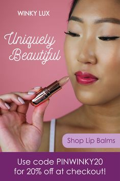 The diva of fresh lip balms, our vegan rose Glimmer Balm applies on clear then responds to your skin's pH levels to create an all natural shade of sparkling pink to give your pucker a subtle twinkle. Fresh Lip Balm, Beauty Hacks Nails, Makeup Hacks, Makeup Ideas, Makeup Tips, Shade Roses, Natural Beauty Tips, Beauty Ideas, Diy Beauty