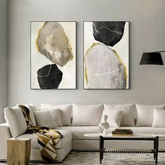 Set of 2 prints Abstract print geometric Painting On Canvas ready to hang framed wall art set Gold print art picture Wall Art home Decor 2 pieces Abstract print Painting print On Canvas ready to hang Geometric Painting, Geometric Art, Abstract Print, Abstract Shapes, Abstract Canvas, Black Canvas Art, Canvas Art Prints, Frames On Wall, Framed Wall Art