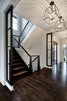 Transitional Custom Home Design - Home Bunch Interior Design Ideas